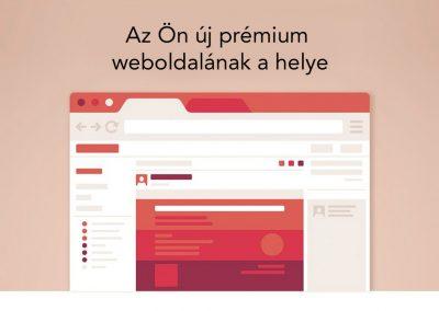 prémium weboldal készítés