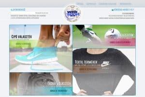 Webáruház készítés referencia
