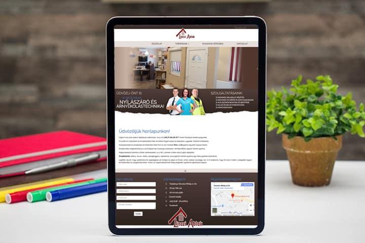 linczi - weboldal készítés
